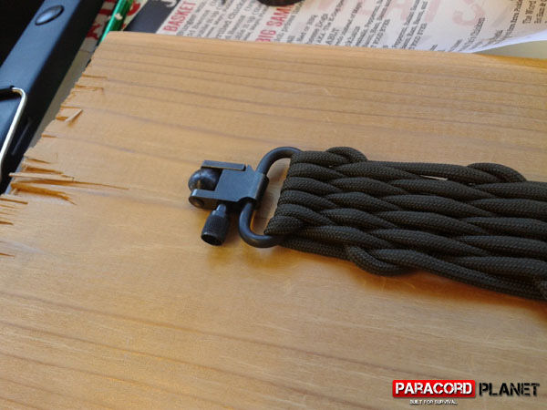 paracord rifle sling swivel studs