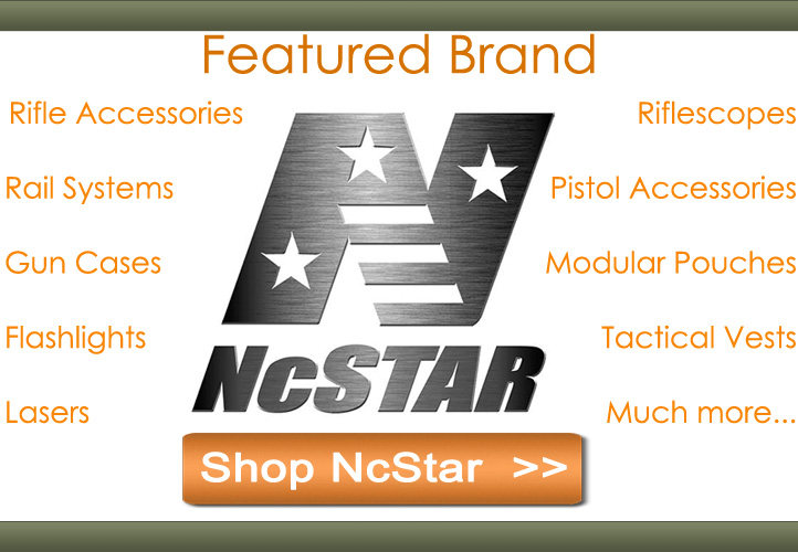Featured brand NcStar. Shop now.