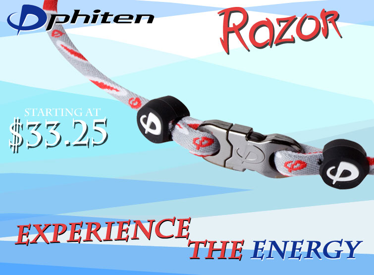 Phiten Razor Necklace