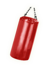 Picture of a punching bag