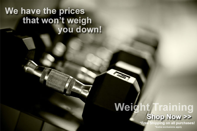 Shop all of our Weight Training Equipment!