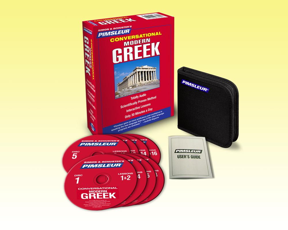 Learn to Speak Greek Fast | Save on Pimsleur Method Greek ...