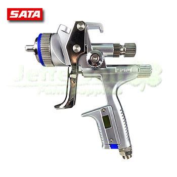 new sata jet 5000b rp digital gravity spray gun. Black Bedroom Furniture Sets. Home Design Ideas