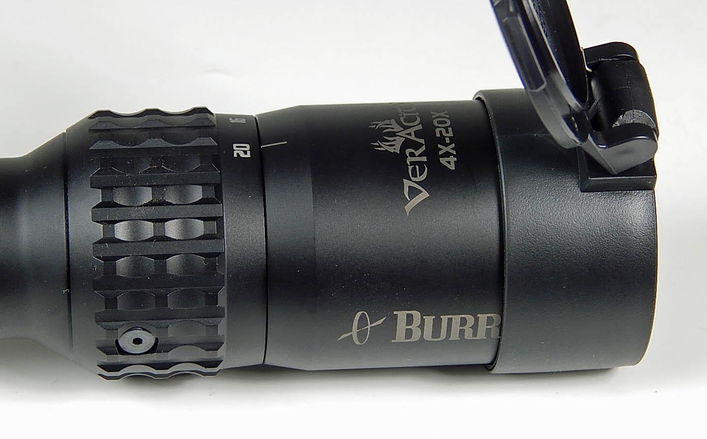 Burris Veracity Riflescope 4 20x50mm 30mm Ball E1 Ffp