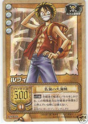 Muntc71 One Piece Card Luffy Straw Hat Pirates Cs C04 Japanese