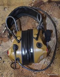 Peltor COMTAC ACH KIT Single Comm Headset MBITR | eBay