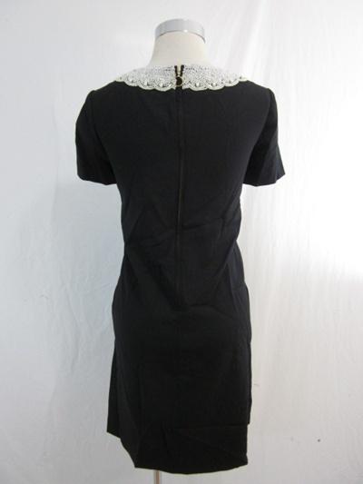 New Kate Spade Black Pearl Madeleine Gail Dress 8 Med