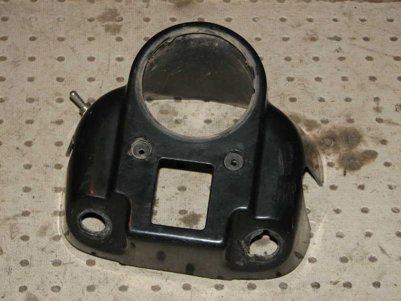 2000 POLARIS XPEDITION 425 4X4 HANDLEBAR PAD SPEEDOMETER HOUSING
