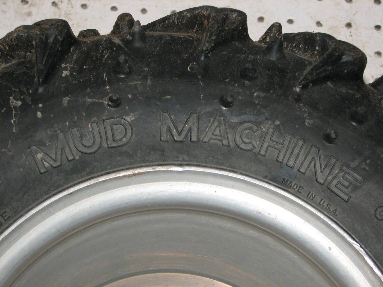 mud machine tires