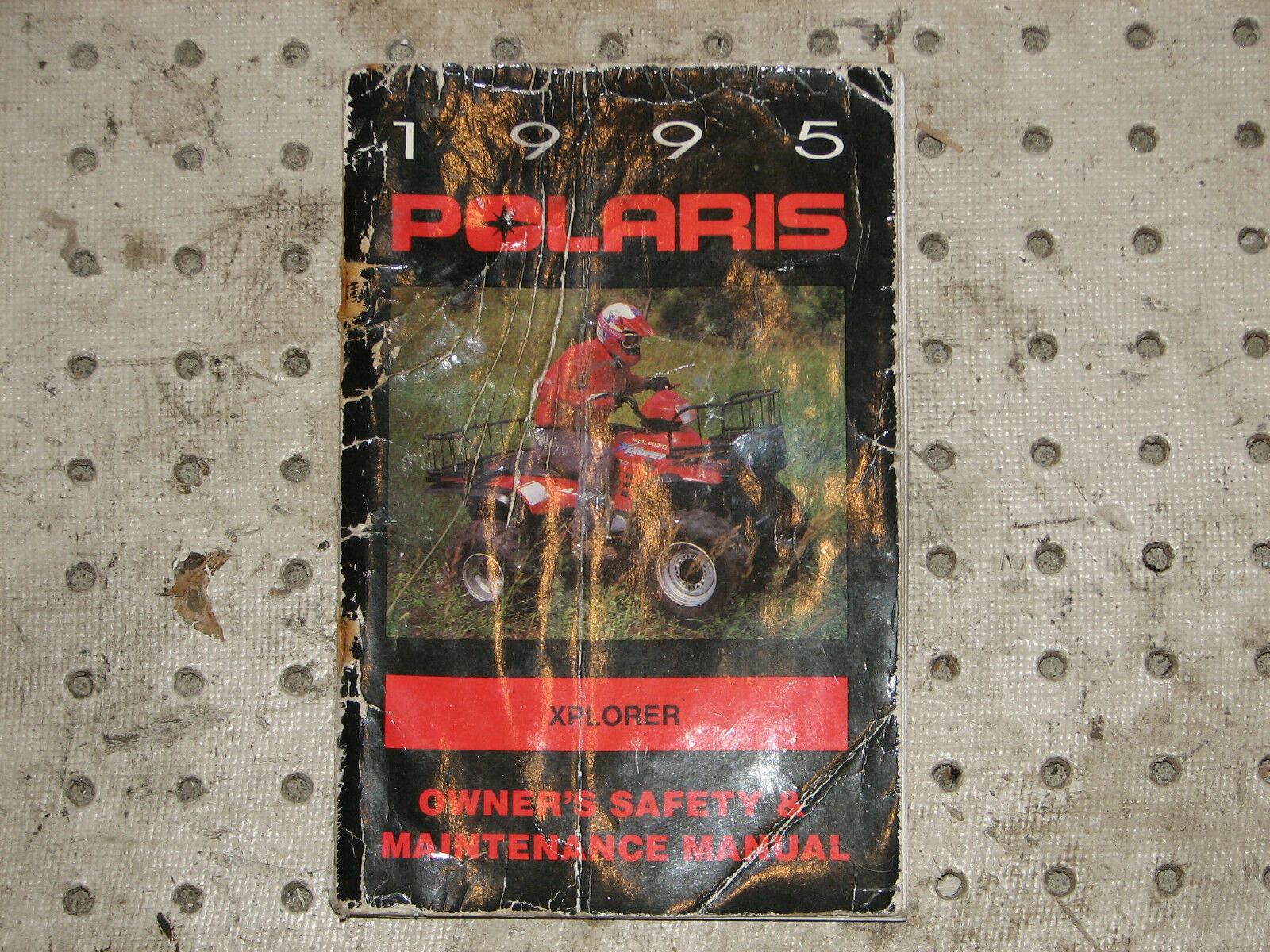 1995 POLARIS SNOWMOBILE UNIVERSAL OWNERS MANUAL