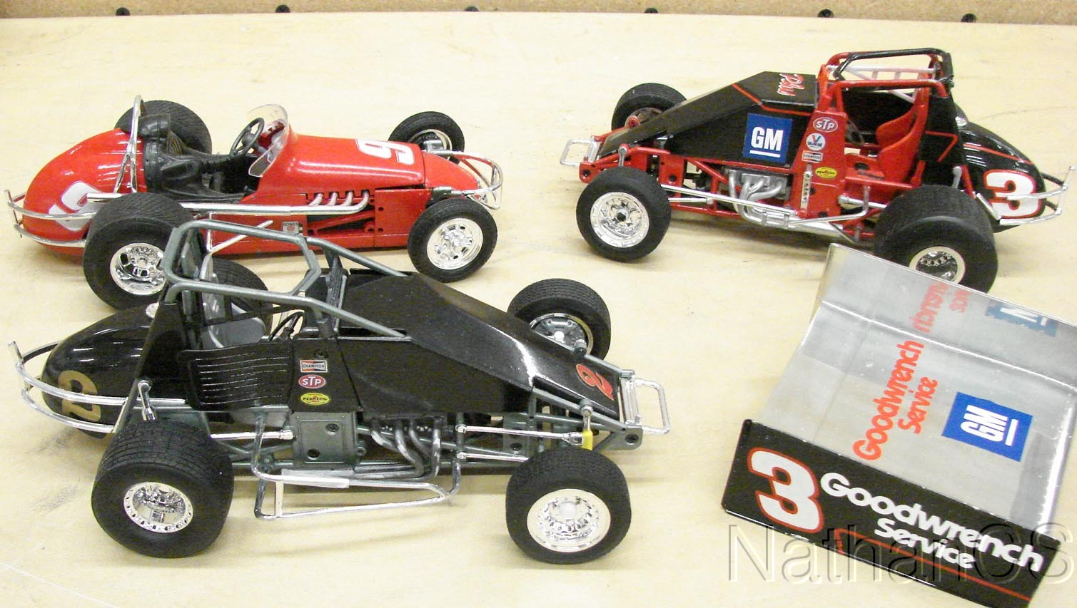 die cast sprint car racing car models ebay. Black Bedroom Furniture Sets. Home Design Ideas