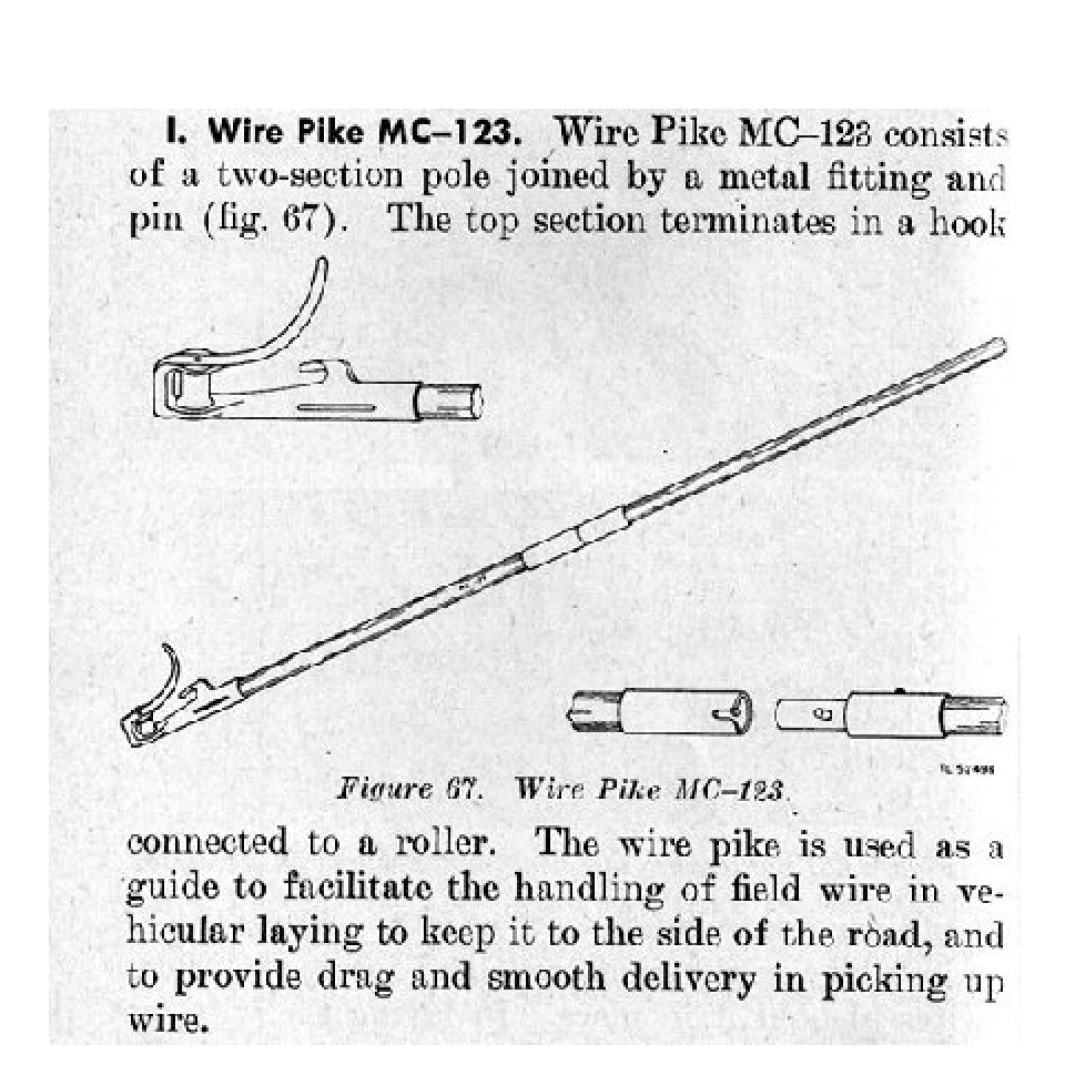 Signal Corps Wire Pike Mc 123 G503 Military Vehicle Message Forums M151a1 Wiring Diagram