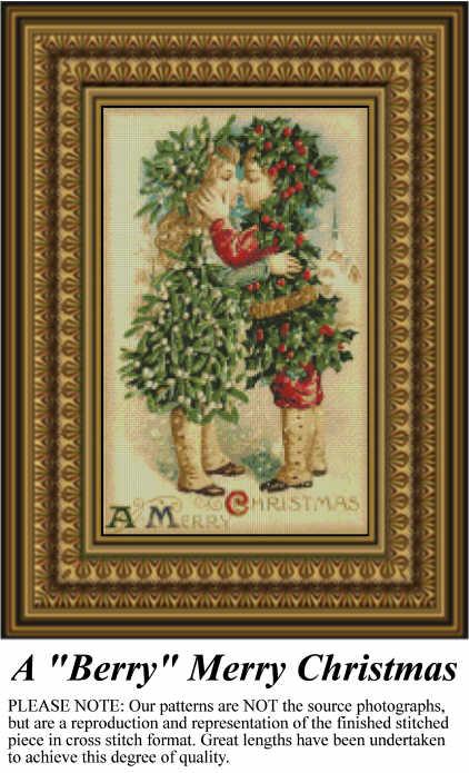 Free Christmas Cross-Stitch Patterns