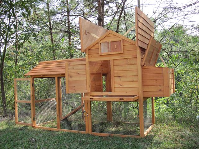LARGE-7FT-Poultry-Chicken-House-Coop-Rabbit-Hutch-054S