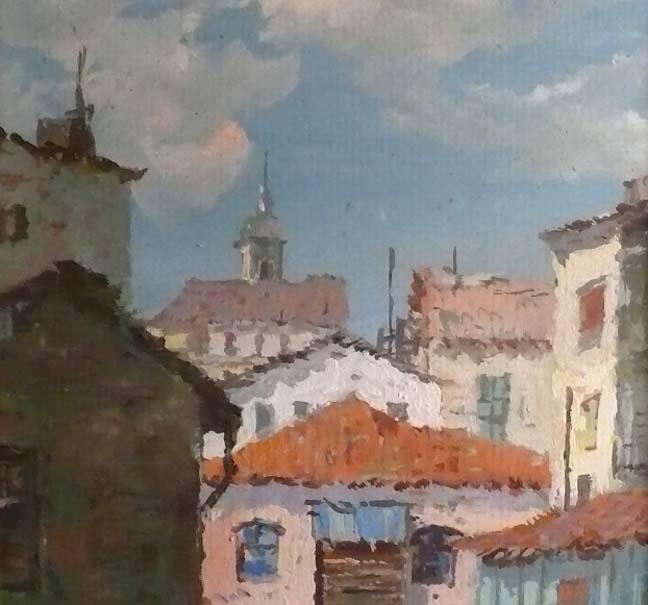 Walters Fine Art Reinaldo Manzke Brazilian Village