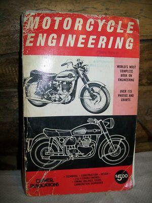 Motorcycle Engineering Philip Edward Irving