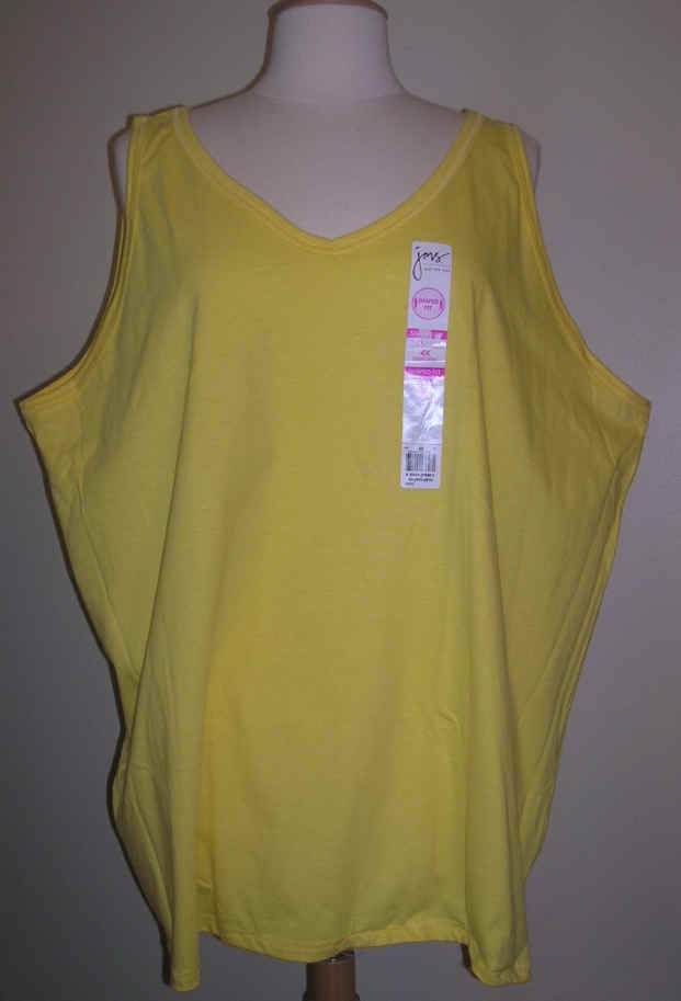 Yellow size 5x v neck top shirt womens new 30w 32w for Size 5x mens dress shirts