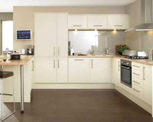 Howdens Kitchen Doors Cream