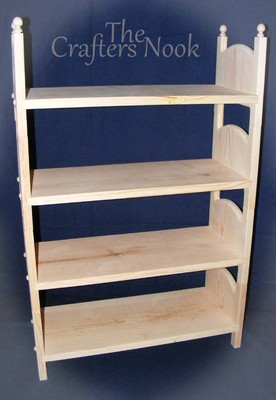Stackable Quad American Made Doll Bunk Bed 4 Beds Quadruple 18 Doll