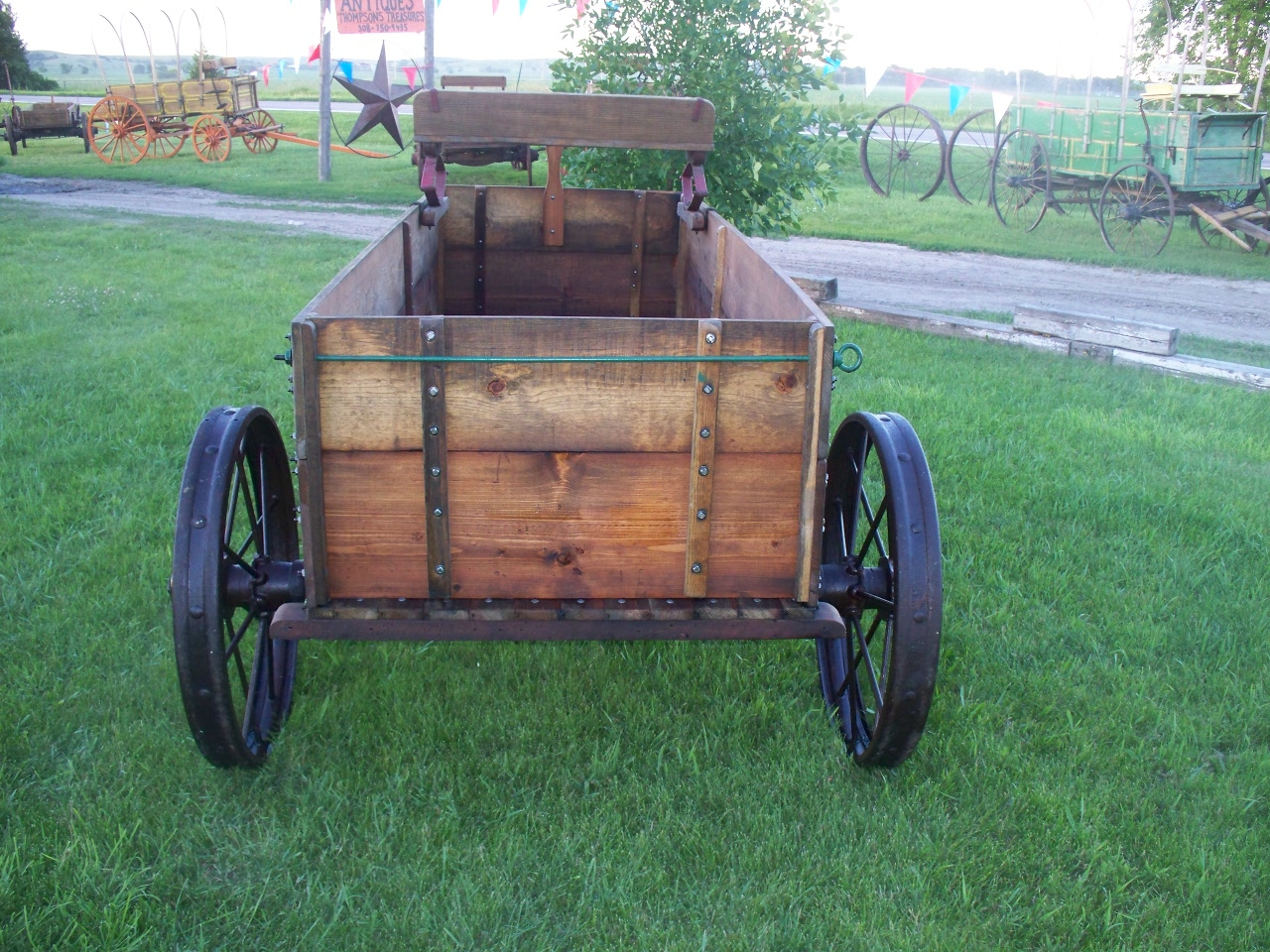 Tractor Pulled Wagon : Tamit vintage john deere horse drawn wagon