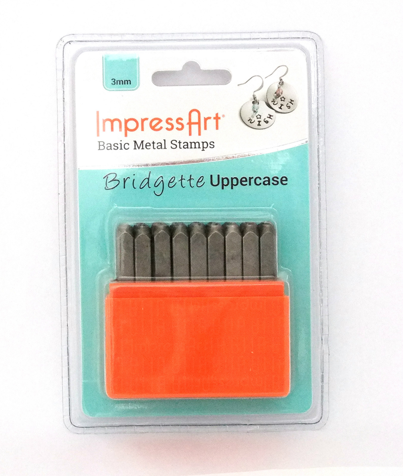 ImpressArt Basic Bridgette Numbers Metal Stamp Set by ImpressArt Metal Stamps