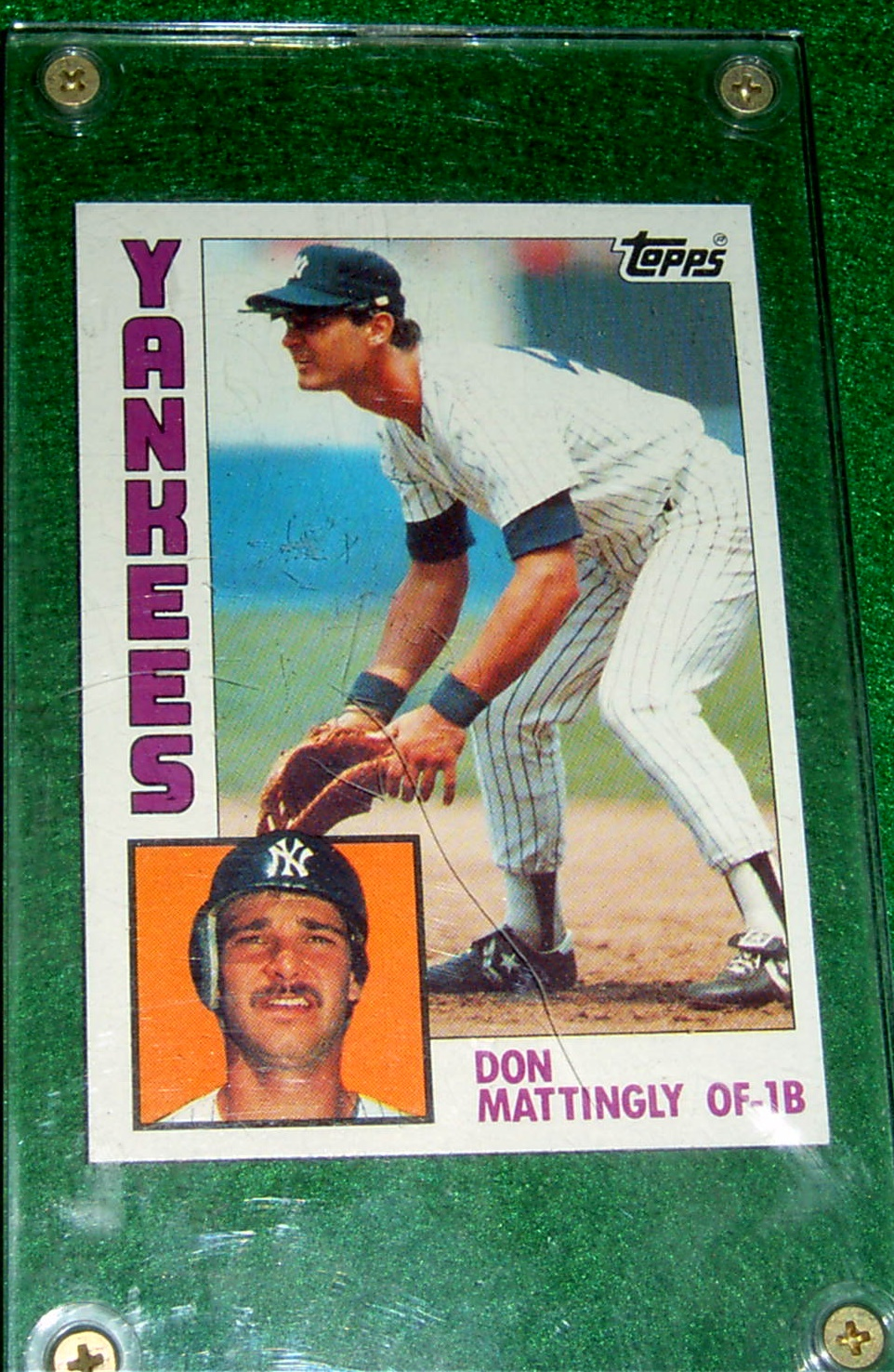 1984 Topps Don Mattingly Rookie Card Free Shipping Corner