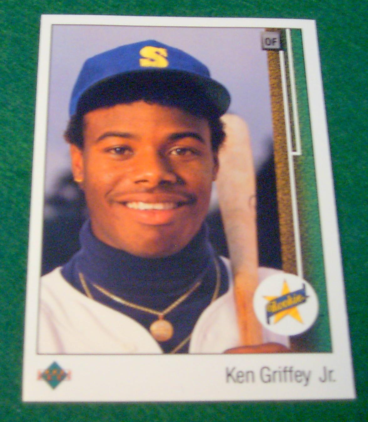 1989 Upper Deck Ken Griffey Jr Rookie Card , Corner Store