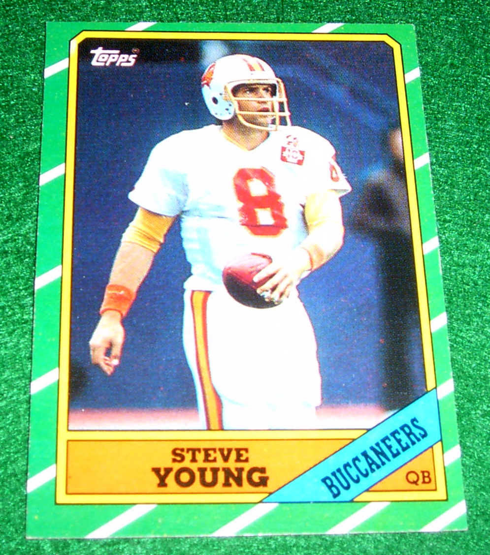 Rookies Coupons: 1986 Topps Steve Young Rookie Card FREE SHIPPING, Corner