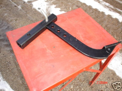 Adjustable Hitch Receiver >> groundworks : trencher sod cutter, bucket mount, 2 inch ...