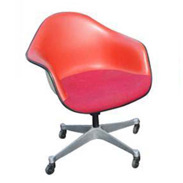Metro Retro Furniture : (1) Herman Miller Eames Fiberglass Arm Shell Chair