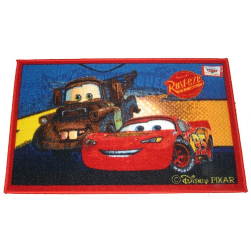 Great Bedding : DISNEY CARS LIGHTENING MCQUEEN RUG TODDLER