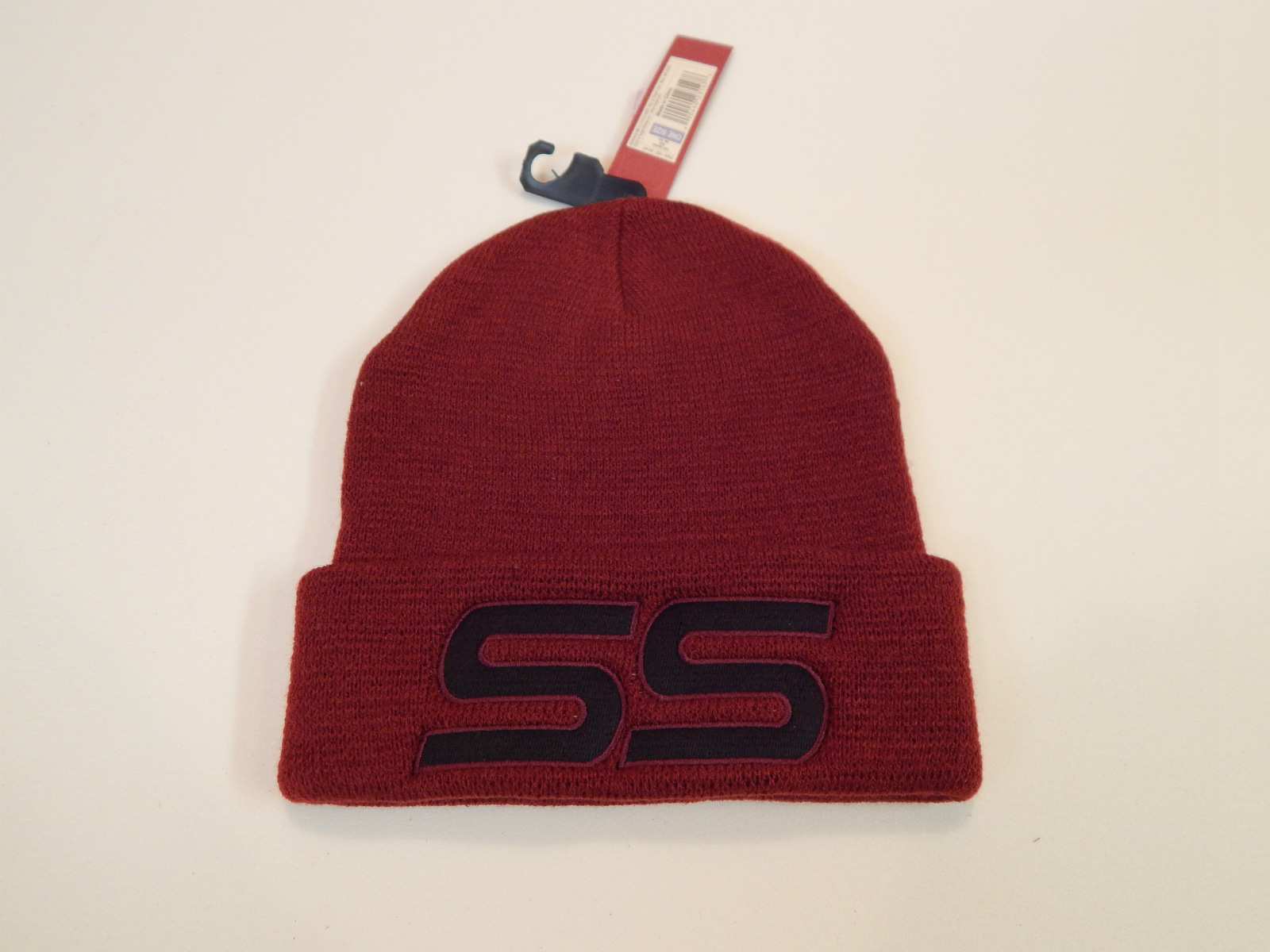 Monte Carlo SS 1986 Maroon Beanie Hat with SS log
