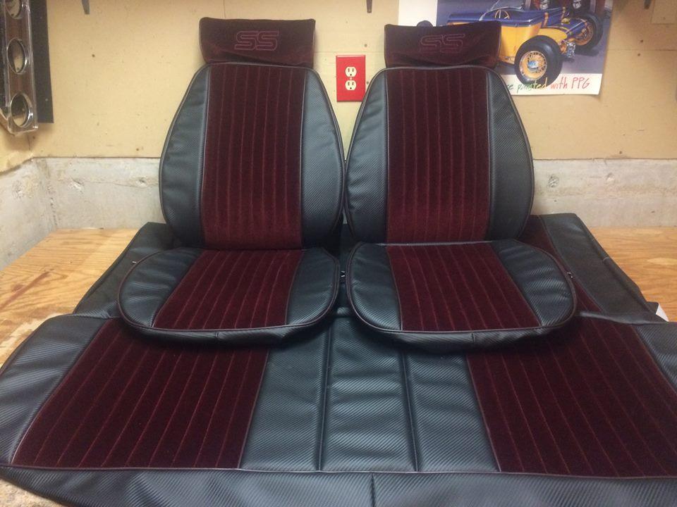 Carbon Fiber Brick n Black Monte Carlo SS Seat Uph