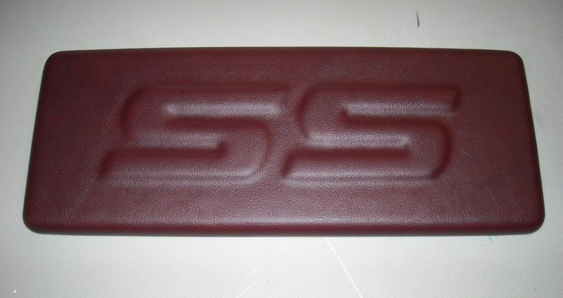 Monte Carlo SS Console Lid Maroon Claret with SS l