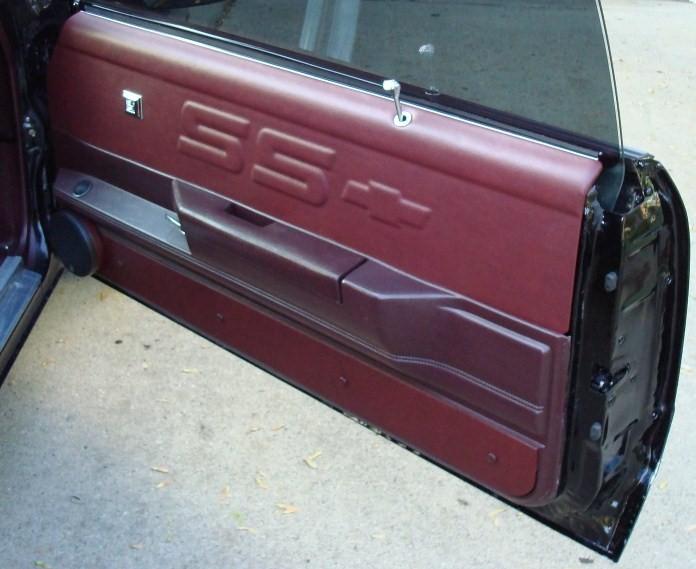 Monte Carlo SS Custom Upper Door Panels With Strip GSI