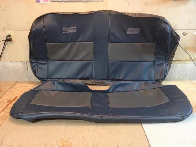 Monte carlo ss front bench seat upholstery kit custom
