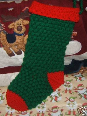 Crochet Reindeer Christmas Stocking Only New Crochet Patterns