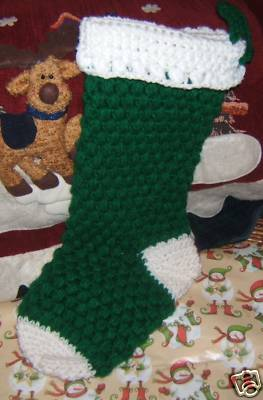 Heirloom Crochet Christmas Stocking Pattern Easy Crochet
