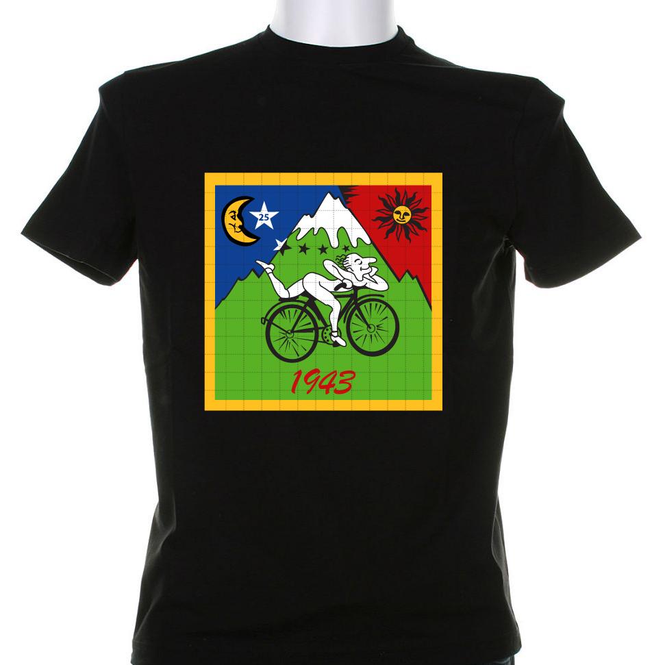 Blue Muppet Albert Hoffman 1943 T Shirt Print