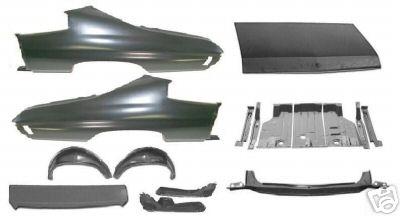 Standardsheetmetal Quarter Panel Wheelhouse Trunk Lid