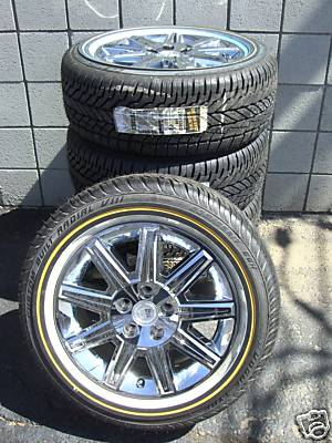 Ezbuywholesale New 17 Quot Cadillac Factory Chrome Wheels Rims Vogue Tire