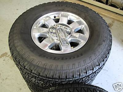 """Used Car Factory >> ezbuywholesale : 16"""" HUMMER H3 FACTORY POLISHED WHEELS RIMS TIRES NEW"""