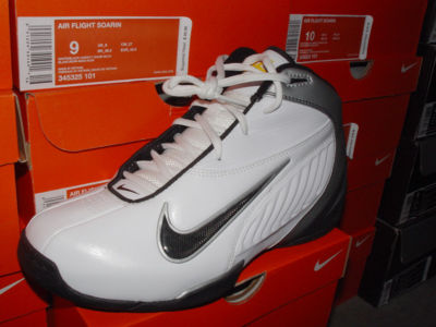 Nike Shoes Air Flight Soaring White/Black US M's 9