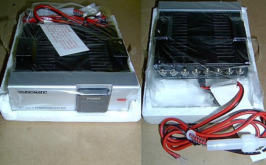 PCC : NEW SPARKOMATIC 40 WATT 40W CAR STEREO AMPLIFIER AMP | Sparkomatic Wiring Diagram |  | Vendio