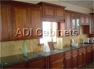 Granger54 Ashland Kitchen Cabinets All Wood Coffee