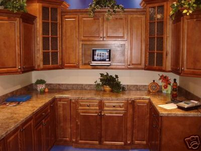 Granger54 All Wood Kitchen Cabinets Spice Maple Custom Design Rta