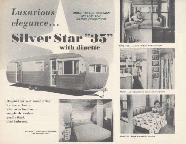 Vintage Literature Reproductions 1950s Silver Star