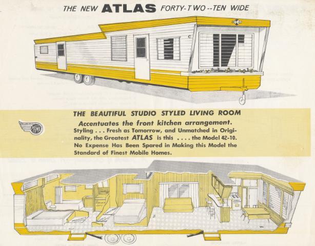 Vintage Literature Reproductions 1950 S Atlas Mobile