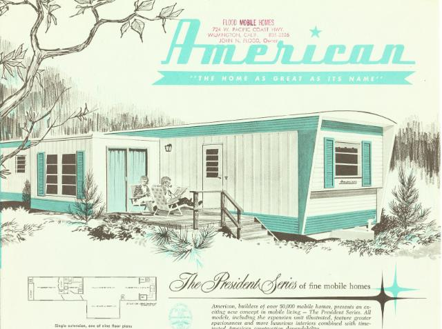 Vintage Literature Reproductions 1960 S American Mobile