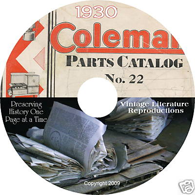 coleman lantern instruction manuals